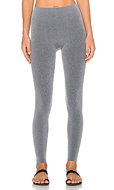 SPANX Seamless Leggings in Carbon Heather