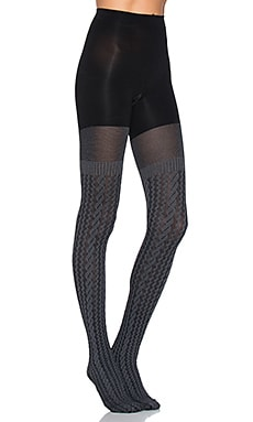 Cable Knit Tights