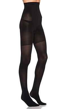 SPANX High Waisted Luxe Legging in Very Black