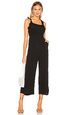 Victoria Ruffle Jumpsuit superdown $74