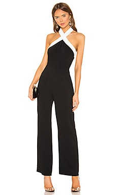 Laurien Cross Front Jumpsuit superdown $72
