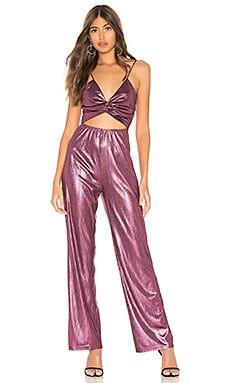 Emerson Twist Front Jumpsuit superdown $72