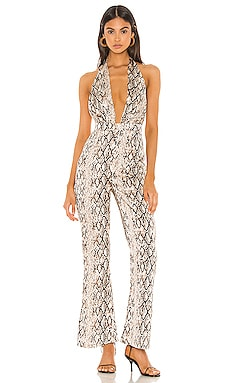 Yasmin Halter Jumpsuit superdown $40