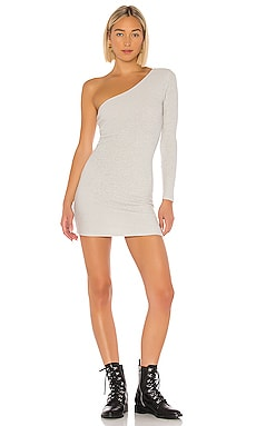 Mila One Shoulder Sweater Dress superdown $22 (FINAL SALE)