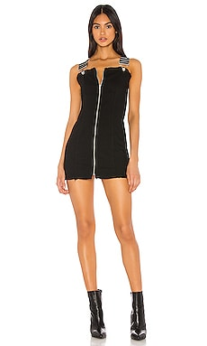 Darcie Overall Mini Dress superdown $70 NEW ARRIVAL