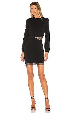 Iselia Fishnet Sweatshirt Dress superdown $24 (FINAL SALE)