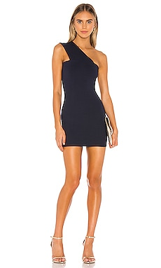 Rockie One Shoulder Dress superdown $68