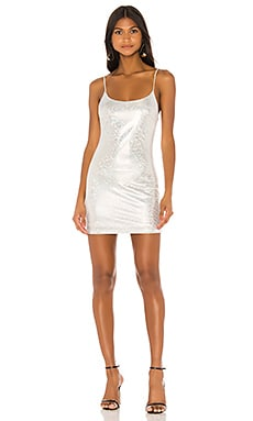 Beckie Sparkle Mini Dress superdown $66 NEW ARRIVAL