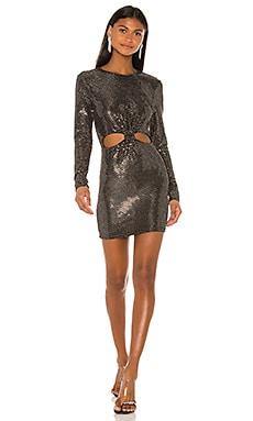 Обтягивающее платье lynne - superdown С блёстками и пайетками фото