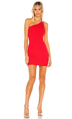 Chelsie One Shoulder Dress superdown $66