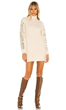 Rudie Sparkle Sleeve Dress superdown $36