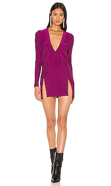 x Draya Michele Mellie Dual Slit Mini Dress superdown $66 新作