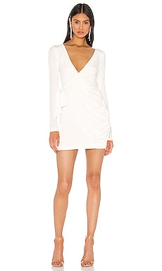 x Draya Michele Sierah Jersey Wrap Dress superdown $66 BEST SELLER
