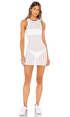 Sabina Distressed Mini Dress superdown $47