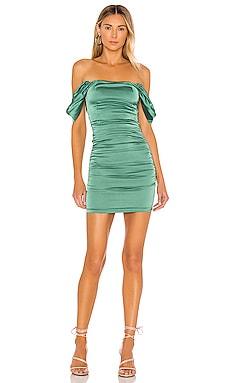 Amari Ruched Mini Dress superdown $66