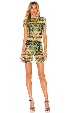 Sana Mesh Mini Dress superdown $29