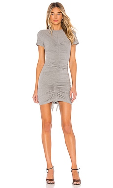 Yasmine Ruched Tie Dress superdown $64