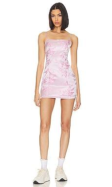 x Draya Michele Letizia Printed Mini Dress superdown $82