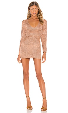 Nuri Crochet Mini Dress superdown $66
