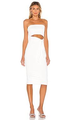 Sheyla Tube Midi Dress superdown $68