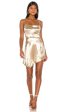 Kaden Asymmetrical Dress superdown $66