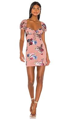 Мини платье jesalyn - superdown В цветочек фото