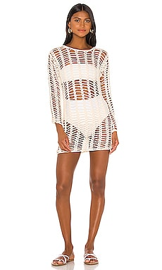 Miranda Crochet Mini Dress superdown $66 BEST SELLER