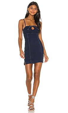 Adelie Tie Front Mini Dress superdown $36