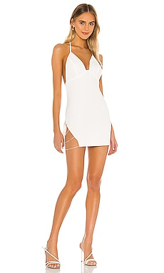 Платье с плечевыми цепочками margeaux - superdown