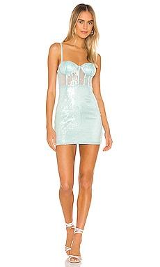 Blythe Bustier Mini Dress superdown $40