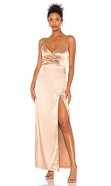 Adrena Slit Maxi Dress superdown $74