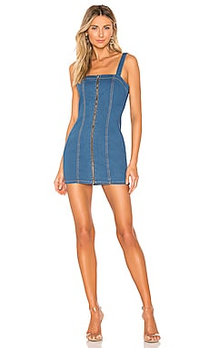 Katherine Denim Mini Dress superdown $31