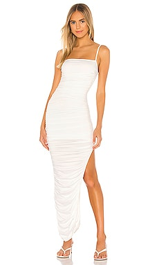 Milani Ruched Maxi Dress superdown $74 BEST SELLER