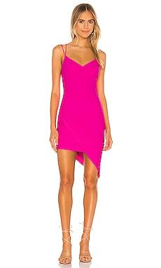 Thalia Asymmetric Dress superdown $66