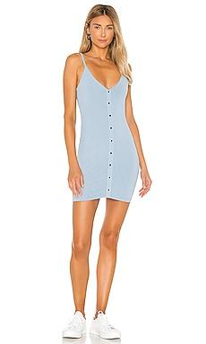 Jordana Snap Front Dress superdown $60