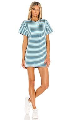 Katrina Stripe Shirt Dress superdown $52