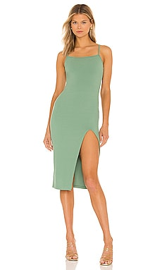 Candace Slit Midi Dress superdown $78