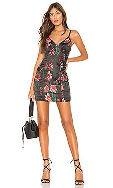 Fiona Floral Mini Dress superdown $26 (FINAL SALE)