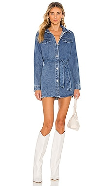 Kelsie Denim Dress superdown $92