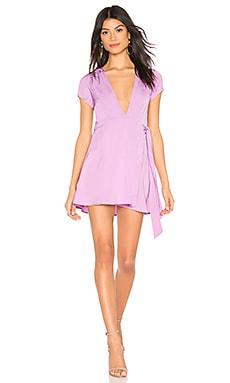 Kaia Wrap Dress superdown $66