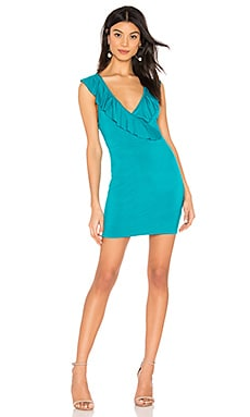 6376e127a55 Flora Ruffle Mini Dress superdown  39 ...