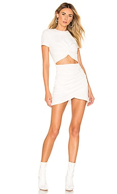 Maureen Jersey Mini Dress superdown $64