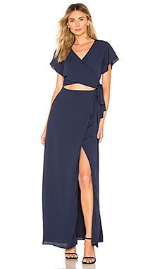 Casey Wrap Maxi Dress superdown $82