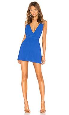 Sharona Pleated Mini Dress superdown $68