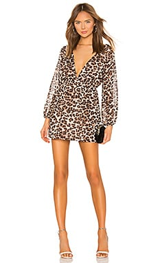 Jill Deep V Dress superdown $33