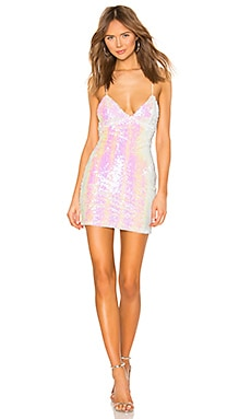 Tamia Lace Up Dress superdown $68