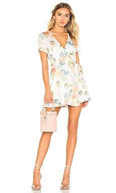 Maye Wrap Mini Dress superdown $86