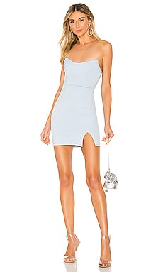 Zarah Slit Mini Dress superdown $48