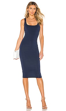 Carlina Square Neck Dress superdown $66