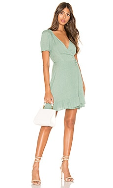 Lili Wrap Mini Dress superdown $68